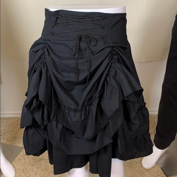 Petticoat Saloon girl skirt with bustle size XXL
